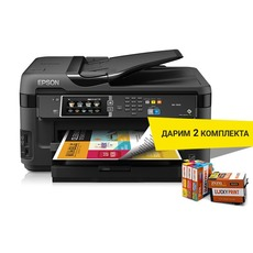 купить принтер Epson WorkForce WF-7610DWF с СНПЧ